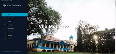 Screenshot of Vila Manresa - Salão de Festas para Casamento